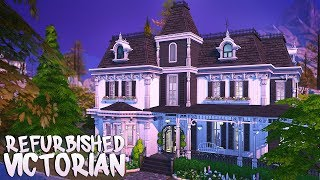 REFURBISHED VICTORIAN 🖤 | The Sims 4 | Speed Build