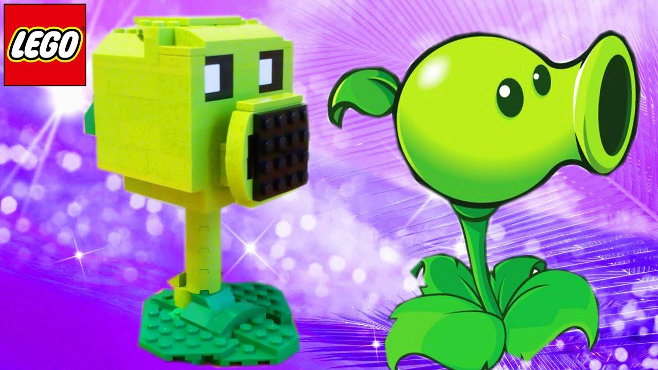 Лего растения против зомби