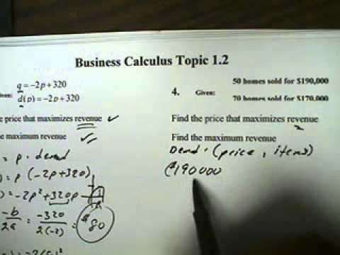 Business Math Topics