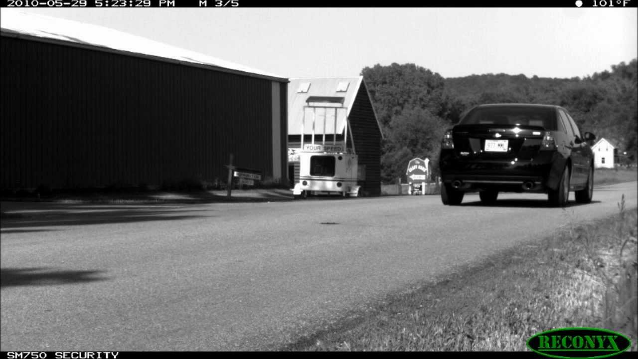 License Plate Camera >> RECONYX HyperFire SM750 - License Plate Capture Camera - YouTube