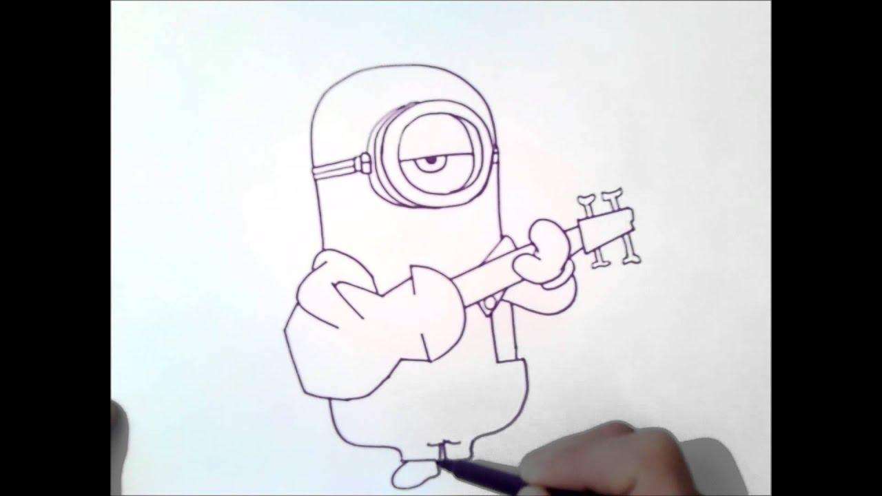 Come Disegnare Stuart Come Disegnare Stuart Minion Minios Youtube