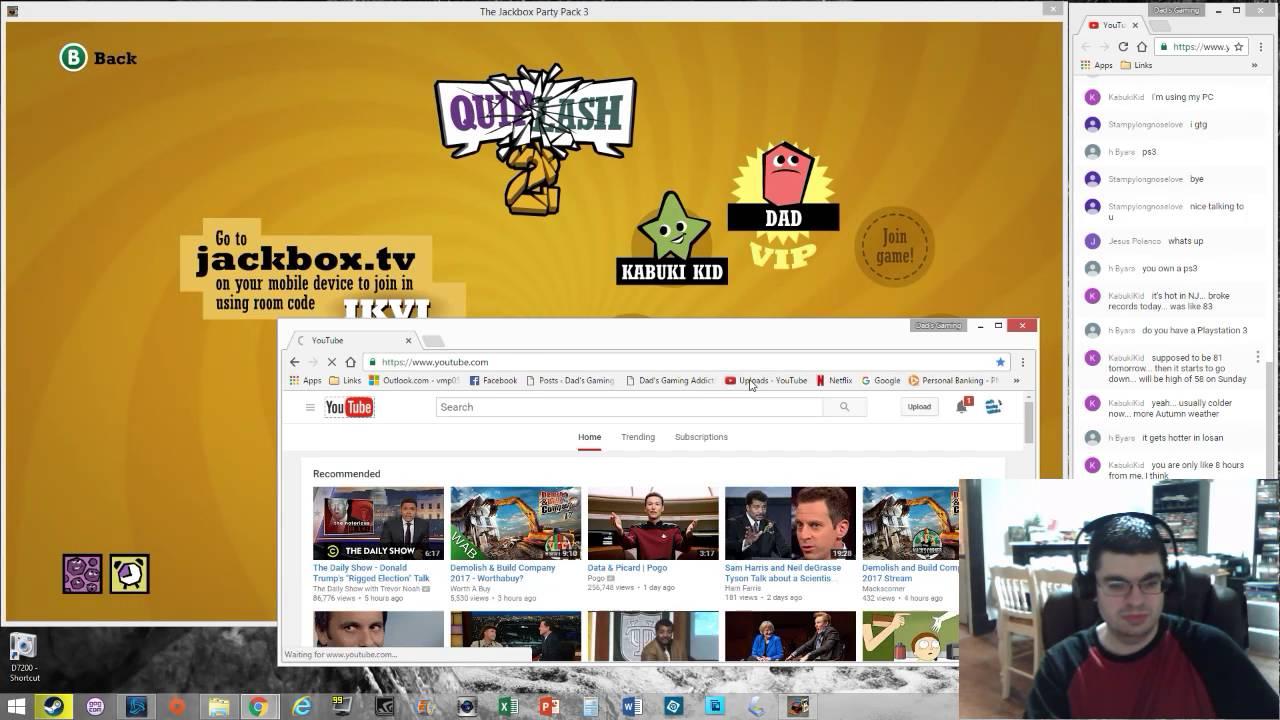 DGA Live-streams: Jackbox Party Pack 3 (Ep. 2 - Gameplay ...