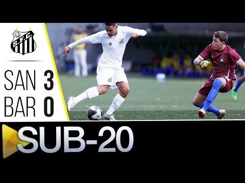 Sub-20 | Santos 3 x 0 Barueri | Paulistão (11/06/16)