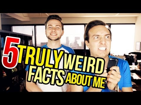 5 TRULY WEIRD FACTS ABOUT ME ft. AdorianDeck!