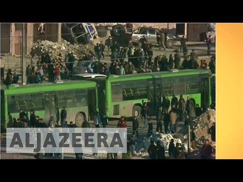 Inside Story - Abandoning Aleppo: Evacuation of rebel-held areas underway