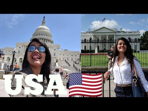 USA First Time Washington DC | Radio Rangila | Rj Himani