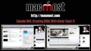 Creating DVDs With Roxio Toast 11 (MacMost Now 664)