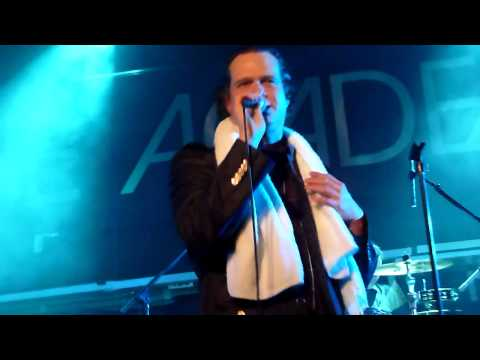Electric Six  I buy the Drugs live @ The Academy, Dublin, Ireland 1,12,12