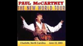 Paul McCartney - Let it be Live Blockbuster Pavillion 1993 (Charlotte,USA)
