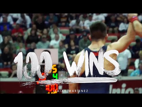 Illinois Wrestling | Isaiah Martinez 100 Wins Video