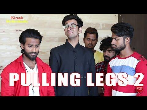Pulling Legs on Shoot- Part 2 - Ultimate Fun || Kiraak Hyderabadiz