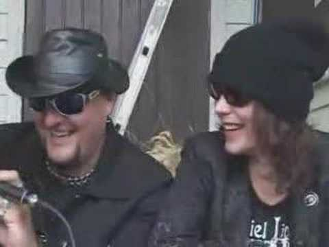 Ville Valo and Andy McCoy Interview - By The 69 Eyes Basist