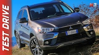NEW MITSUBISHI ASX - OUTLANDER 2017 - FIRST TEST DRIVE - ENG ITA SUB