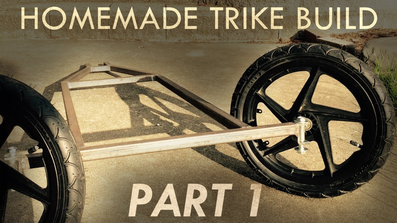 Building an Electric Trike From Scraps