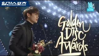 [2017 골든디스크] 음반부문 골든디스크 인기상  샤이니 수상소감