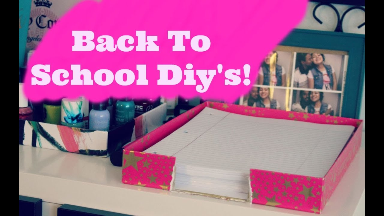 Diy binder decoration organization ideas back to school for Back to school notebook decoration ideas