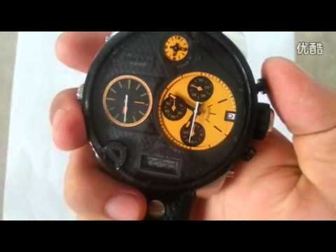 40132304d57e8 Relógio Diesel DZ7234 - YouTube