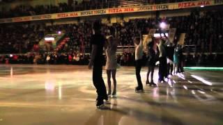 Шоу олимпийских чемпионов - открытие 26.04.14 Екатеринбург