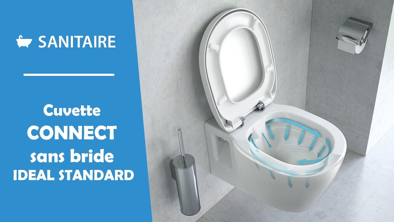 Marque De Toilette Suspendue cuvette wc connect sans bride ideal standard