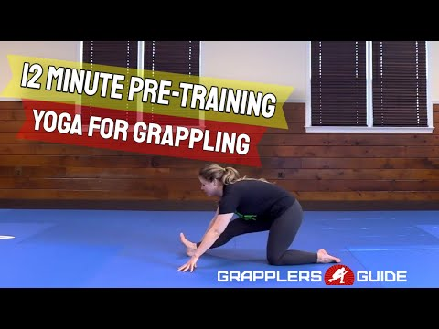 12 Minute Pre-Training Yoga For Grappling / BJJ Warm-Up Flow