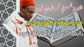 تلاوة جديدة للقارئ السنغالي الهادي توري | يا أيها الذين آمنوا أوفوا بالعقود | Quran