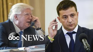 Trump insists he did nothing wrong in phone call to Ukraine