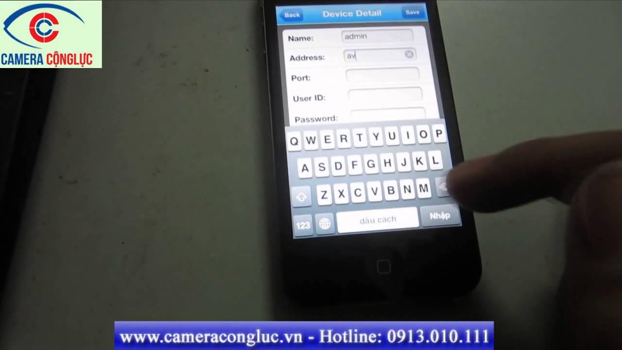 Hướng dẫn cài đặt phần mềm MeyE xem camera trên điện thoại