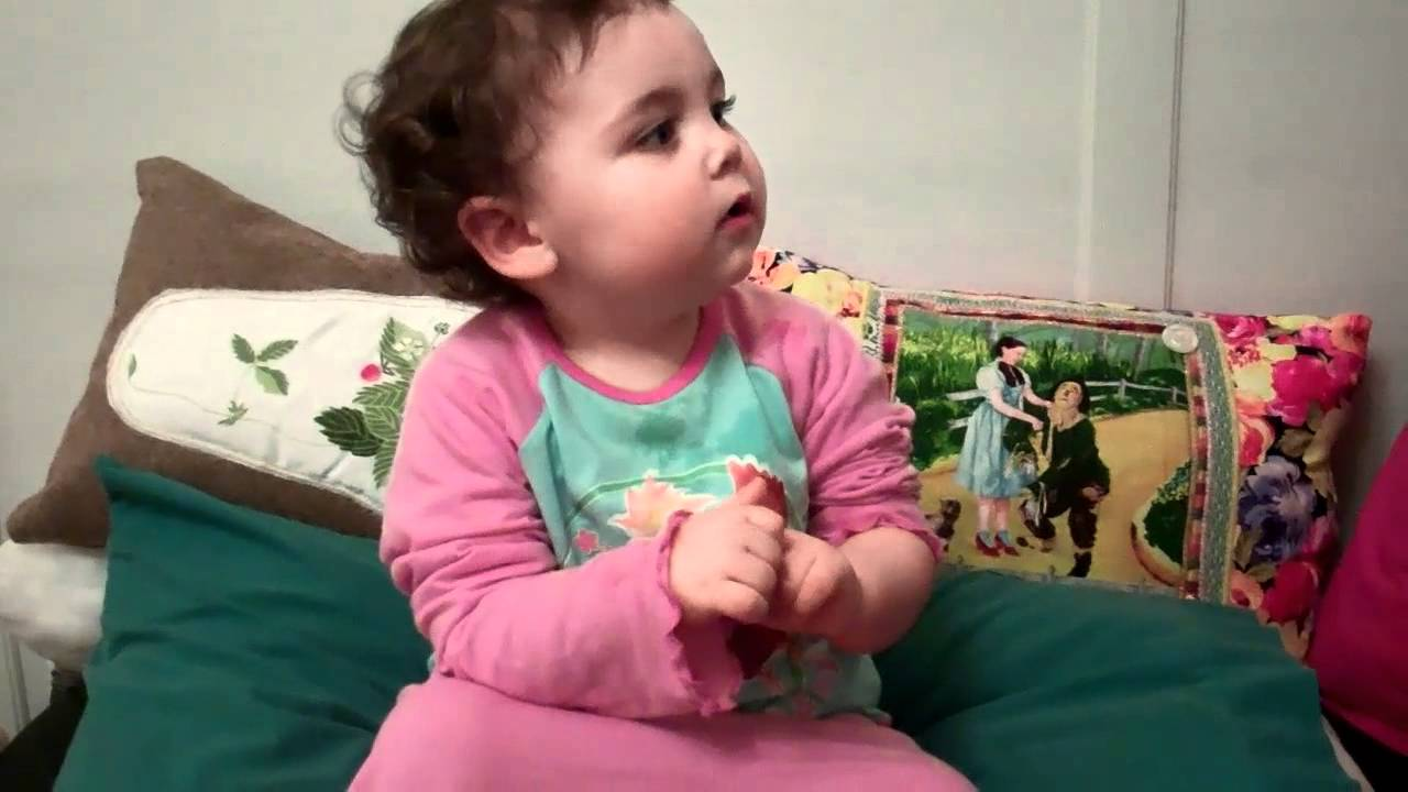 16 Month Old Demonstrates Baby Sign (BSL) Tiny Talk & Mr ...