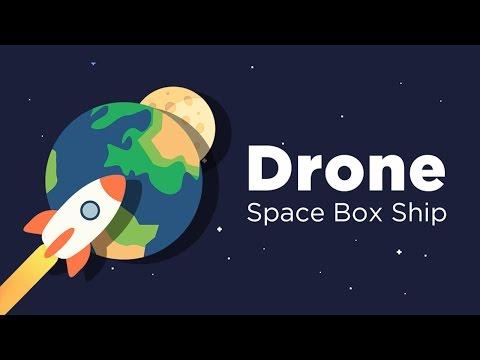 Drone - Space Box Ship