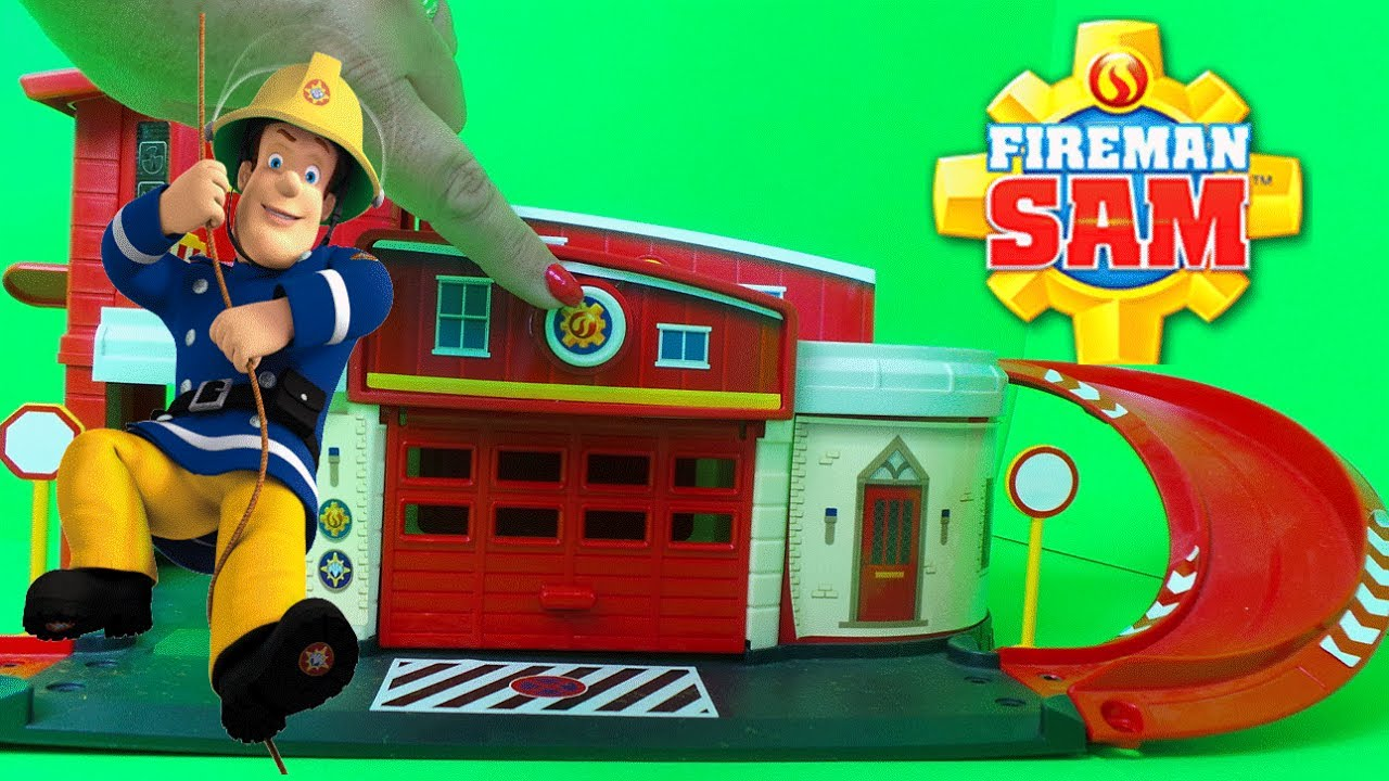 Best Fireman Sam Toys Kids : Top of fireman sam feuerwehrmann strażak best tv