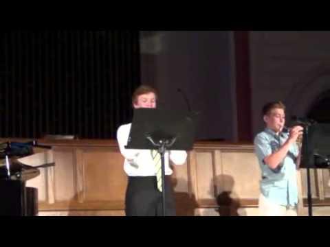 Christian Kleiser and Trumpet Trio Bugle Boy
