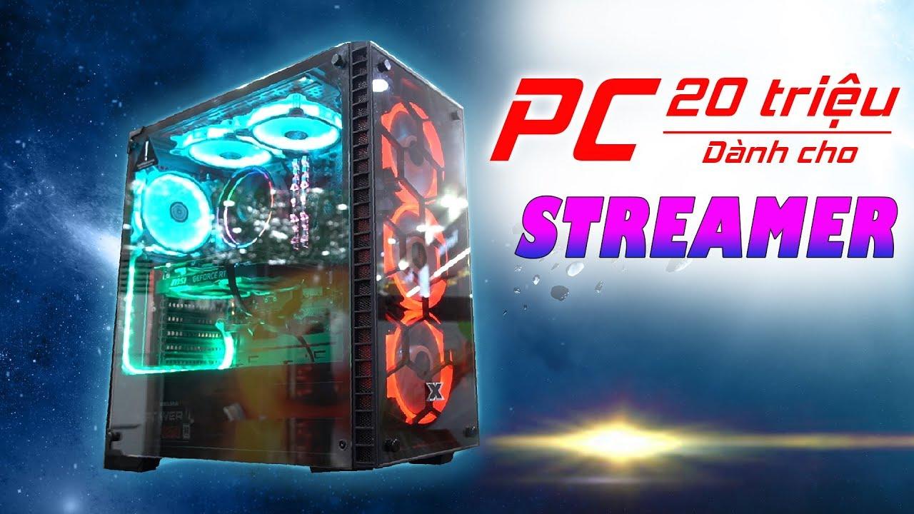 PC CHO NGƯỜI MỚI BẮT ĐẦU CÔNG VIỆC LIVE STREAM GAME –  PCPA PERFORMANCE V03