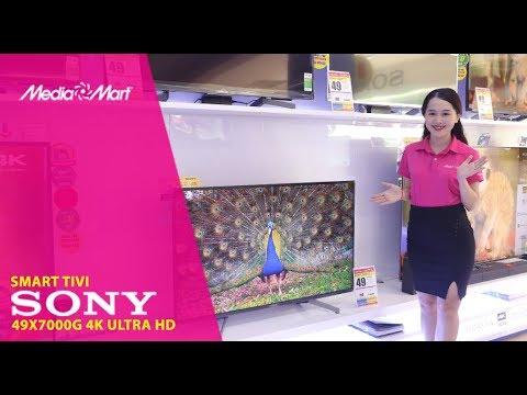 Smart Tivi Sony 4K 49 inch 49X7000G – Trải nghiệm giải trí 4K HDR đầy cảm xúc