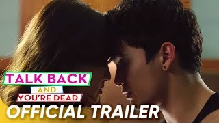 Official Trailer | 'Talk Back And You're Dead' | James Reid and Nadine Lustre