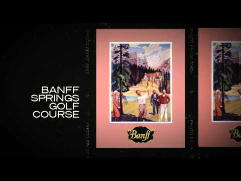 Canadian Pacific Railway Archive Travel Posters of the Banff