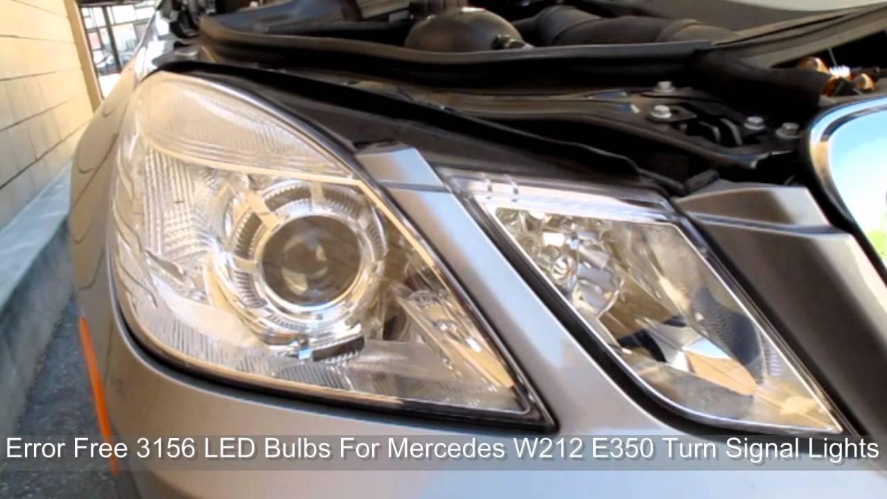 Mercedes-Benz E-Class: Cornering light function