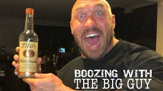 Ryback TV - Boozing With The Big Guy ( Tito's Handmade Vodka Edition)