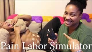 Hilarious Labor Pain Simulator!!! (I'm pregnant!)