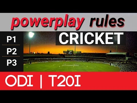 Power Play Rules in Cricket ODI and T2O Format | Vision Times
