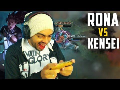 KENSEI VS RONA | BUILD FULL ATTK SPEED WP | VAINGLORY GAMEPLAY 3X3