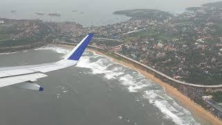 INDIGO FLIGHT TAKE OFF FROM GOA AIRPORT