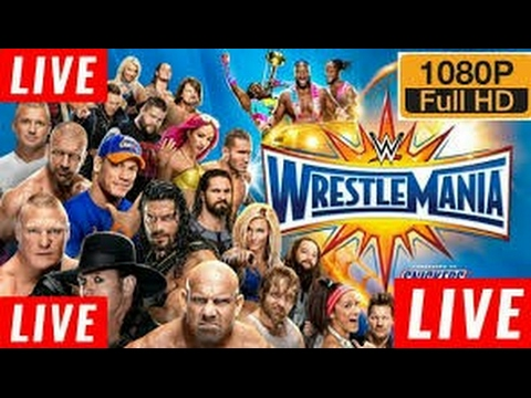 WWE Wrestlemania 33 Live Chat Room On FB Join Now