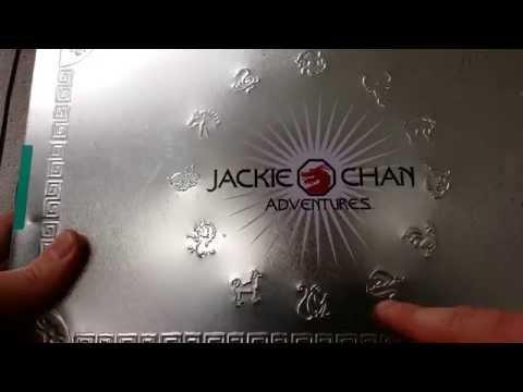 Jackie Chan Adventures. suprize tin of wonders.