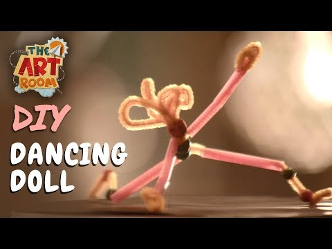 The Art Room - Dancing Doll | Best out of Waste | Easy DIY Crafts for Kids