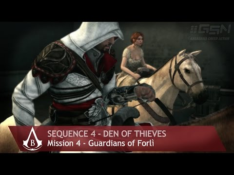 Assassin's Creed: Brotherhood - Sequence 4 - Mission 4 - Guardian of Forlì (100% Sync)