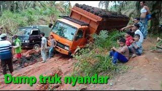 Drive truck dump
