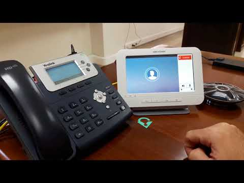 Vector Security | Hikvision Doorbell DS-KH6310-W with Asterisk SIP integration