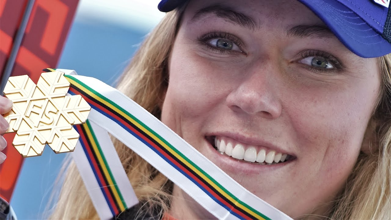 Mikaela Shiffrin wins super combined world title, breaks American record | NBC Sports