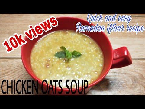 Oatmeal Chicken Caldo