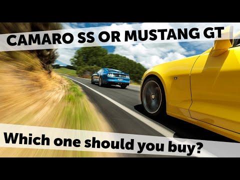 2018 Ford Mustang GT vs 2018 Chevrolet Camaro SS | Short Shift